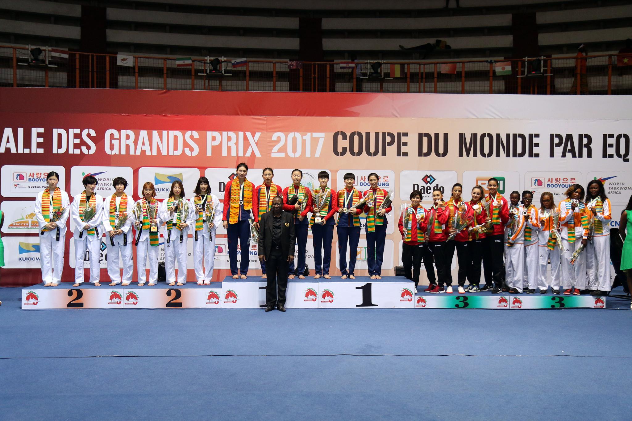 China clinch two titles at World Taekwondo Team Championships