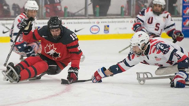 The United States secured a 5-2 win over Canada ©Hockey Canada