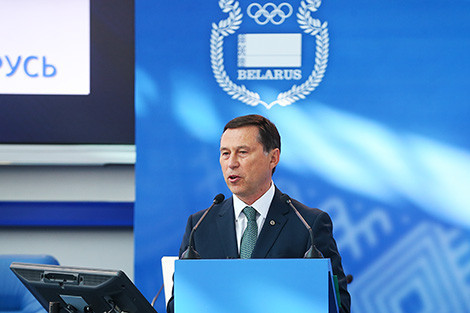 National Olympic Committee of Belarus general secretary Georgy Katulin has criticised the IOC decision to ban Russia from competing under its own flag at Pyeongchang ©NOC Belarus