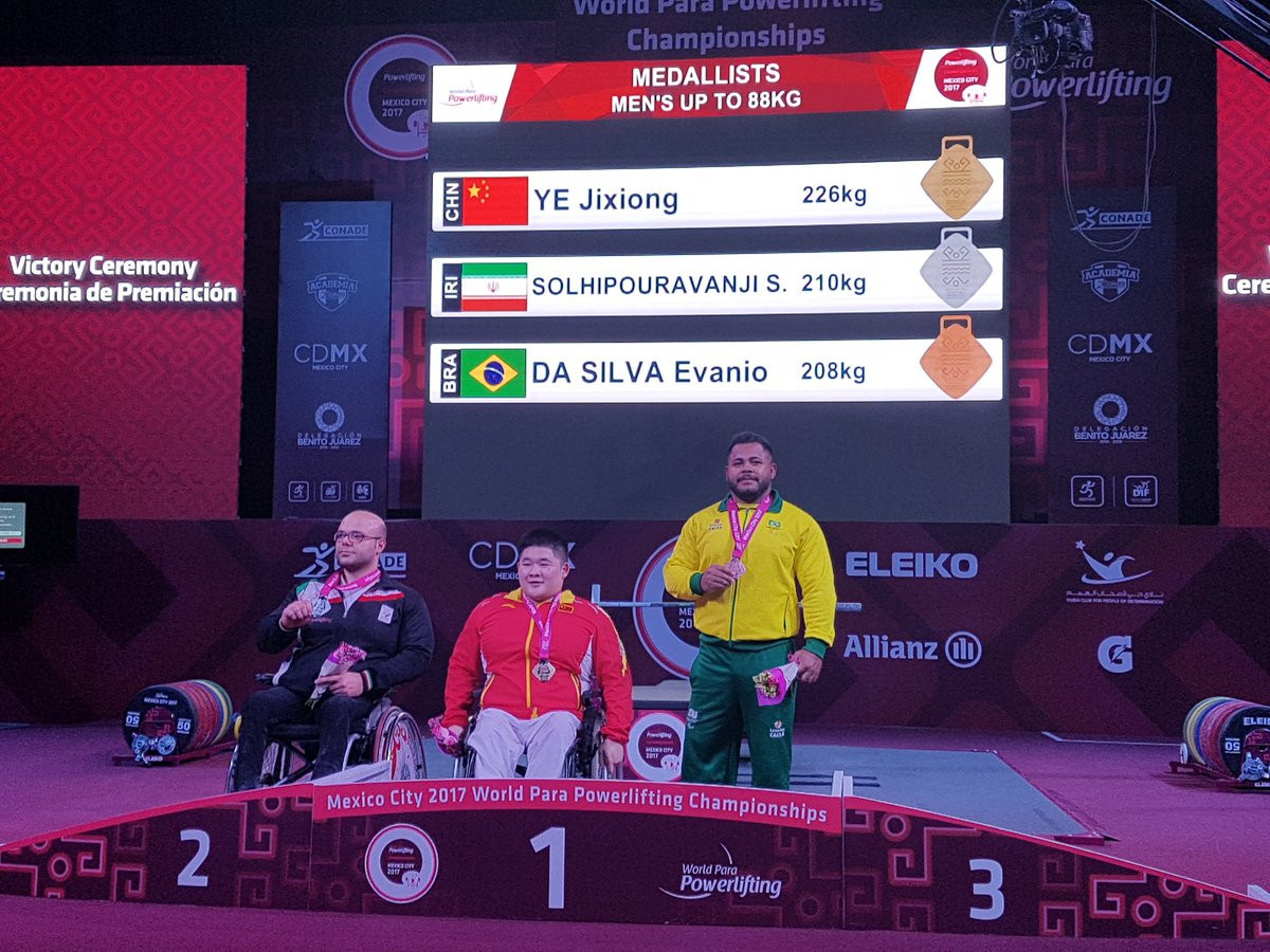 China secure double powerlifting gold as Para Sport Festival continues in Mexico City