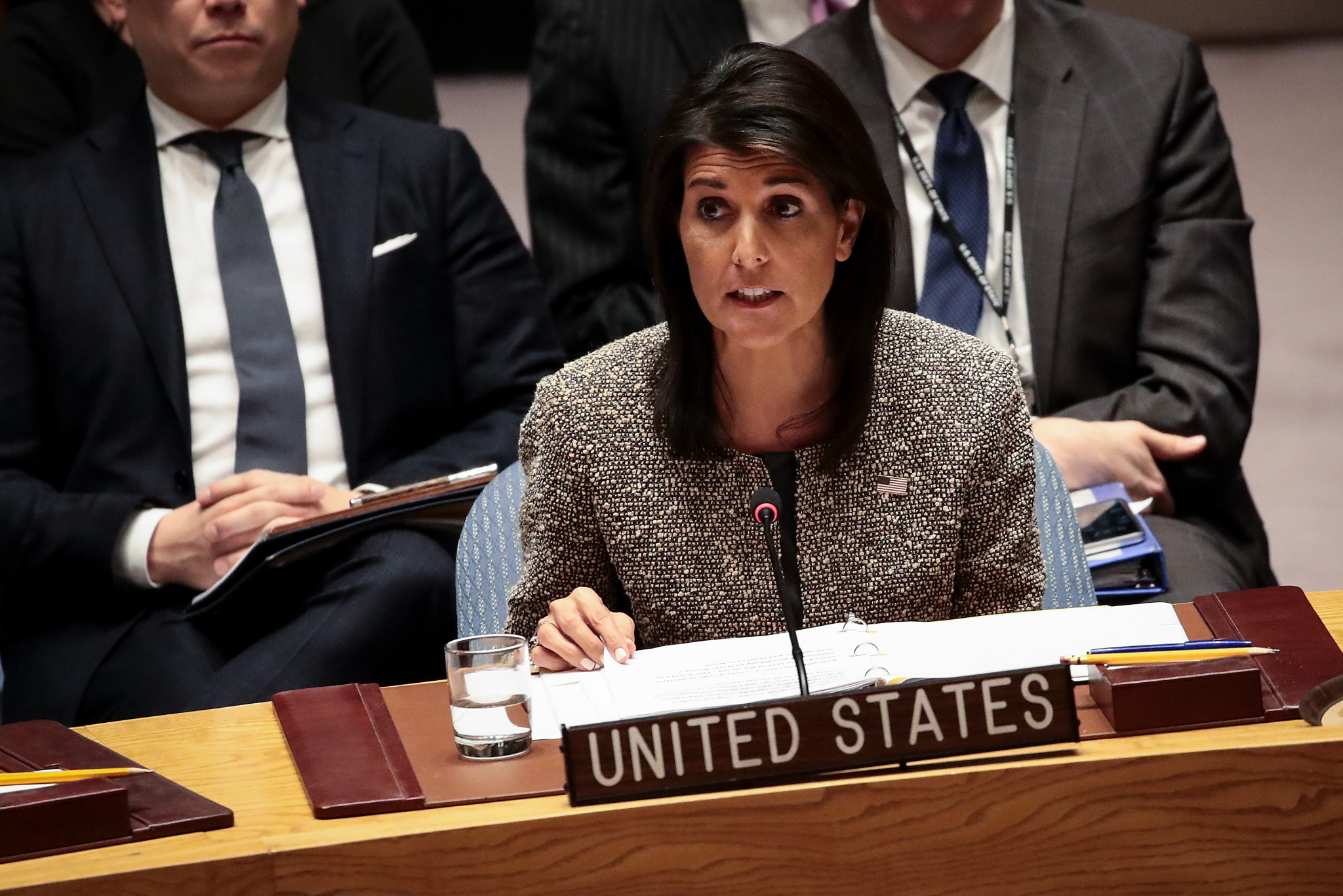 "Nikki Haley, the US ambassador to the UN, believes it is still an ""open question"" whether the country will attend Pyeongchang 2018 ©Getty Images"