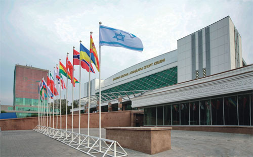 The event was initially scheduled to be held at the Baluan Sholak Sports Palace in Almaty ©Wikipedia