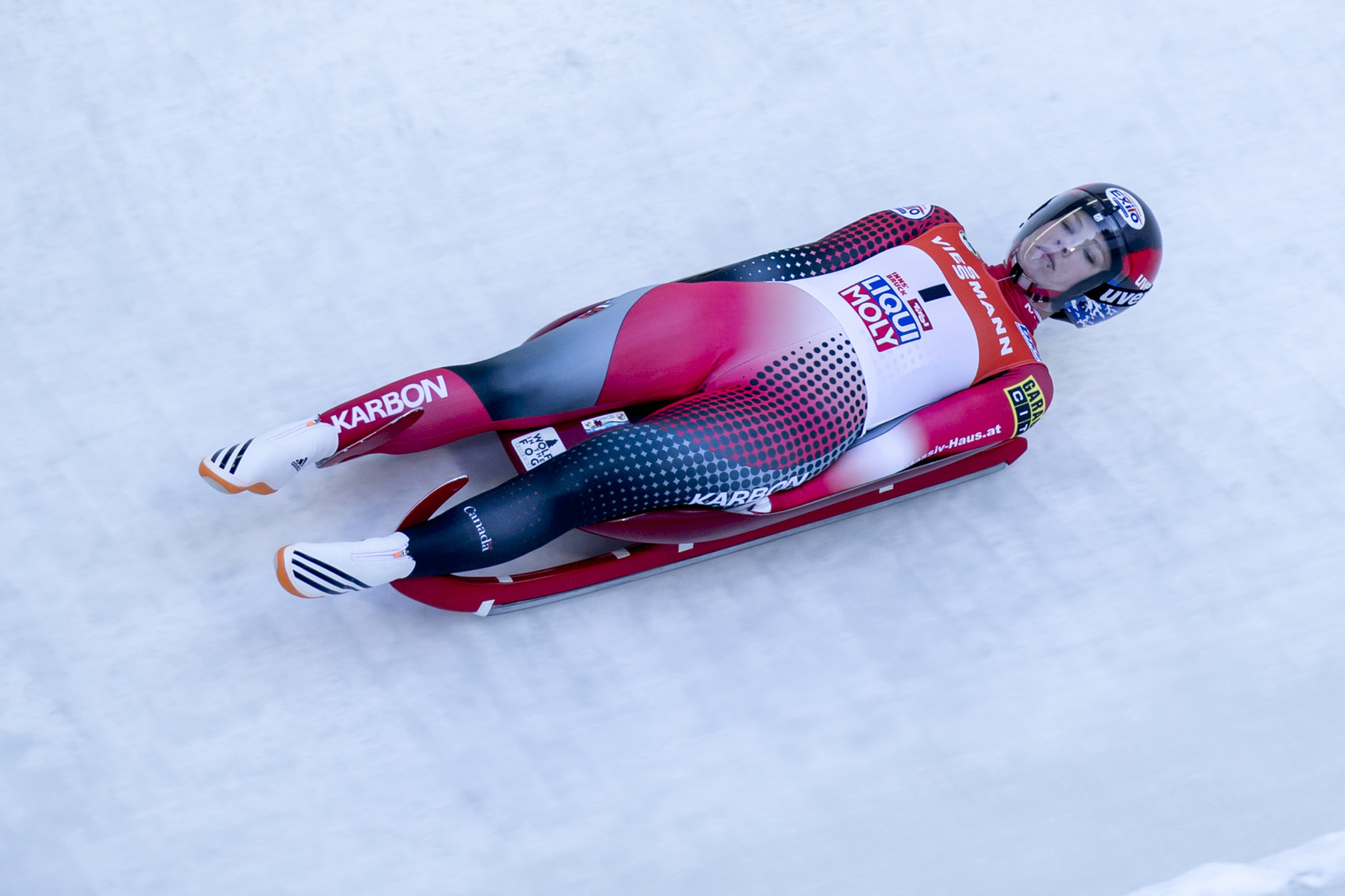 Gough looking forward to home race as Luge World Cup heads to North America