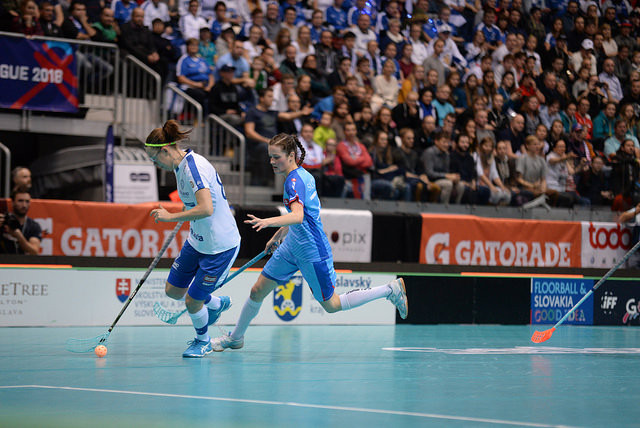 Finland end home hopes with quarter-final victory at Women's World Floorball Championships