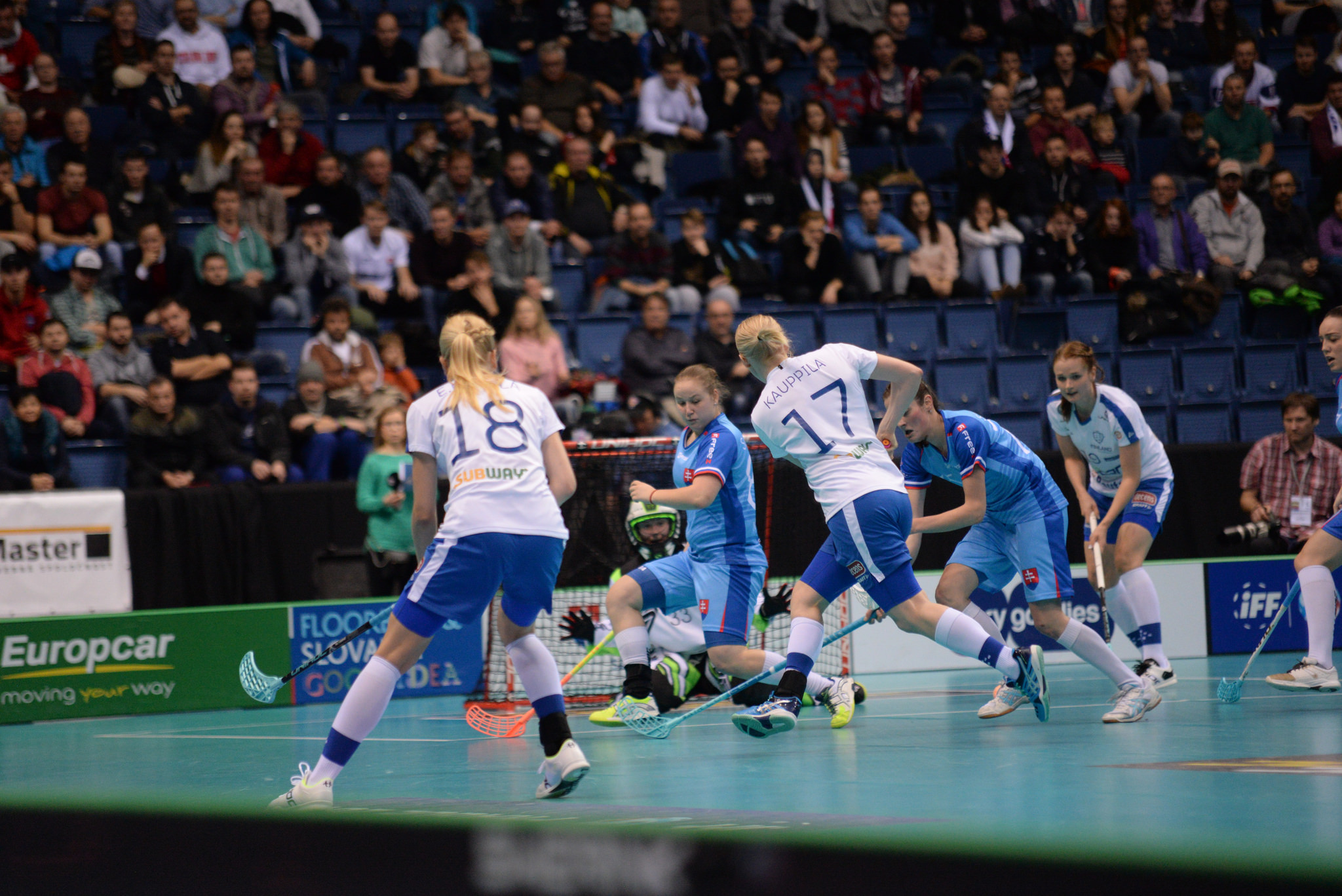 Finland proved too strong for the host nation as they ran out comfortable winners ©IFF