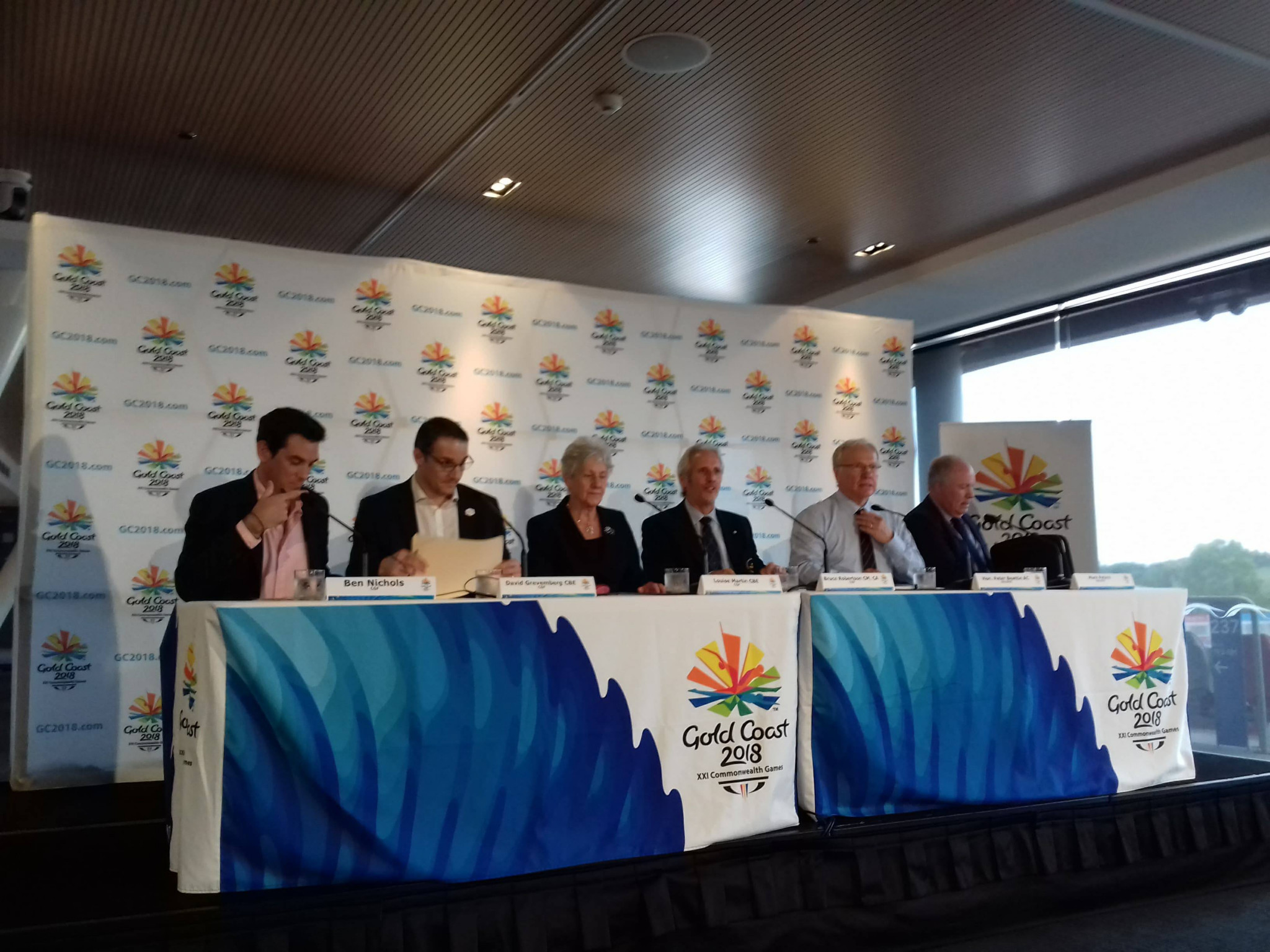The CGF and Gold Coast 2018 have called on the Australian media to accredit themselves for the Games ©ITG