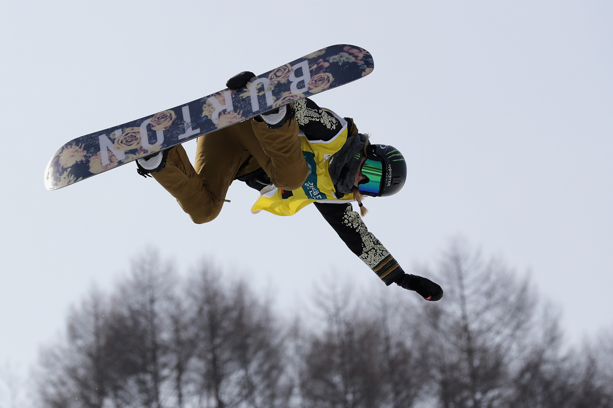 Chloe Kim topped her qualification heat at Copper Mountain ©Getty Images