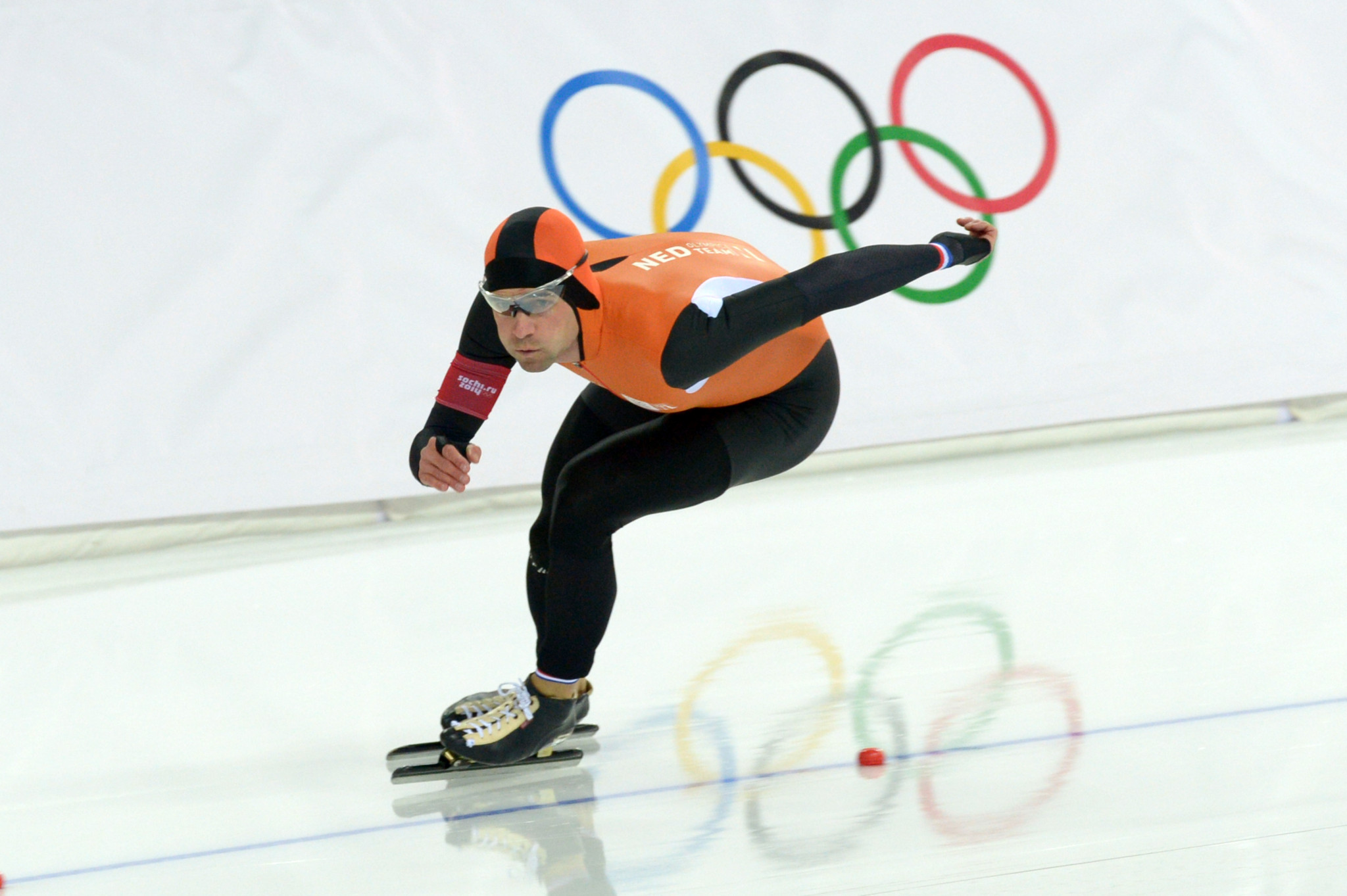 Mark Tuitert pictured competing at the Sochi 2014 Winter Olympic Games ©Getty Images