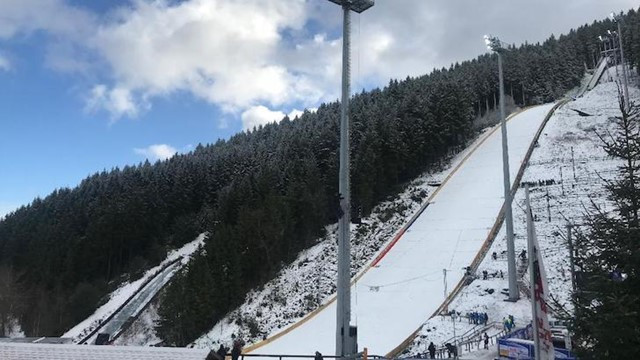 Ski Jump qualification cancelled due to strong winds in Germany