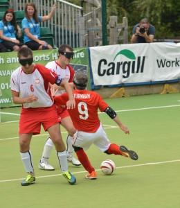 Hosts England put seven past Poland to make winning start at IBSA Blind Football European Championships