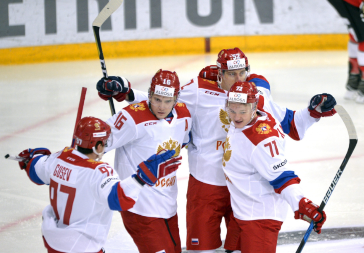 A Russian ice hockey team will have to participate under a neutral flag at Pyeongchang 2018 ©Getty Images