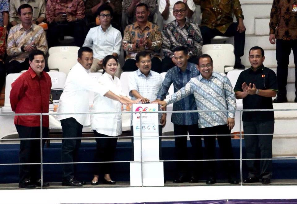 Indonesian Vice-President inaugurates new Aquatics Centre for Jakarta Palembang 2018
