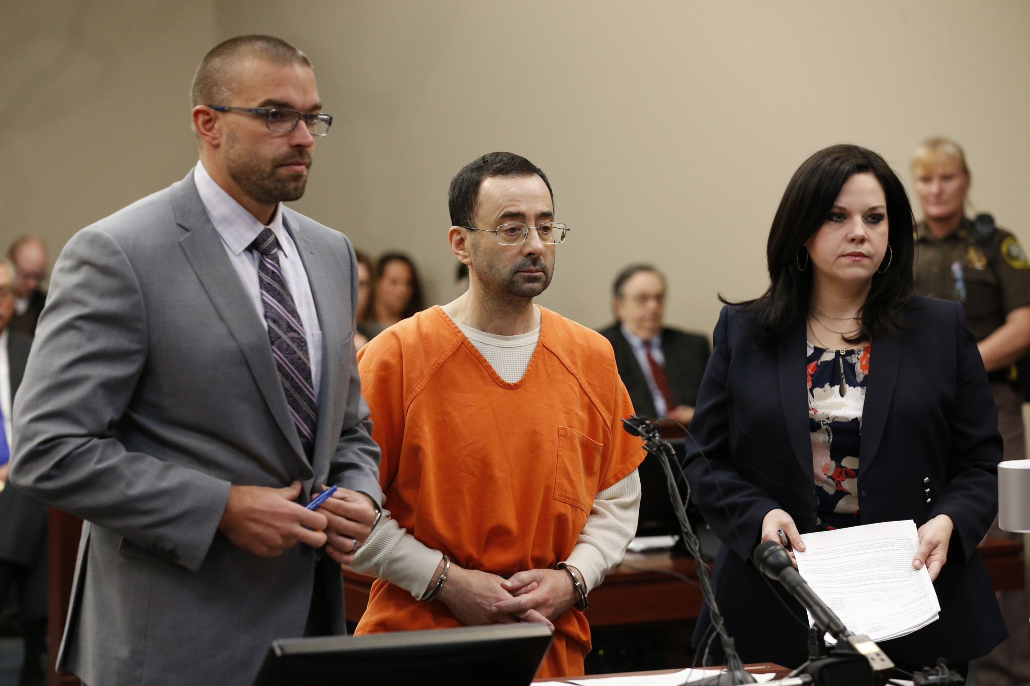 Former USA Gymnastics doctor sentenced to 60 years in prison for child abuse images