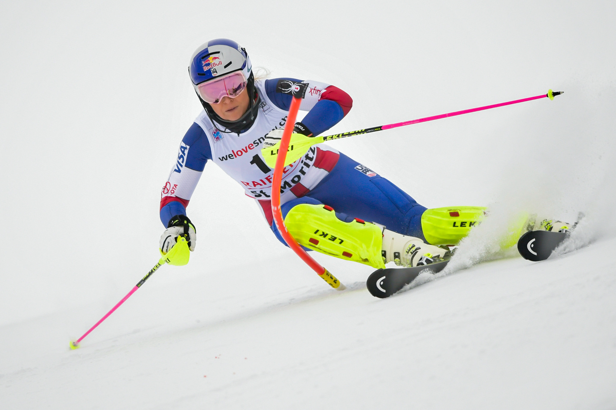 Vonn claims hopes to be better representative for US than Trump at Pyeongchang 2018