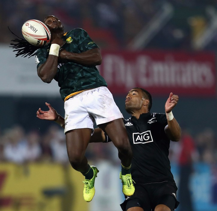 Shujaa on free fall at Cape Town Sevens