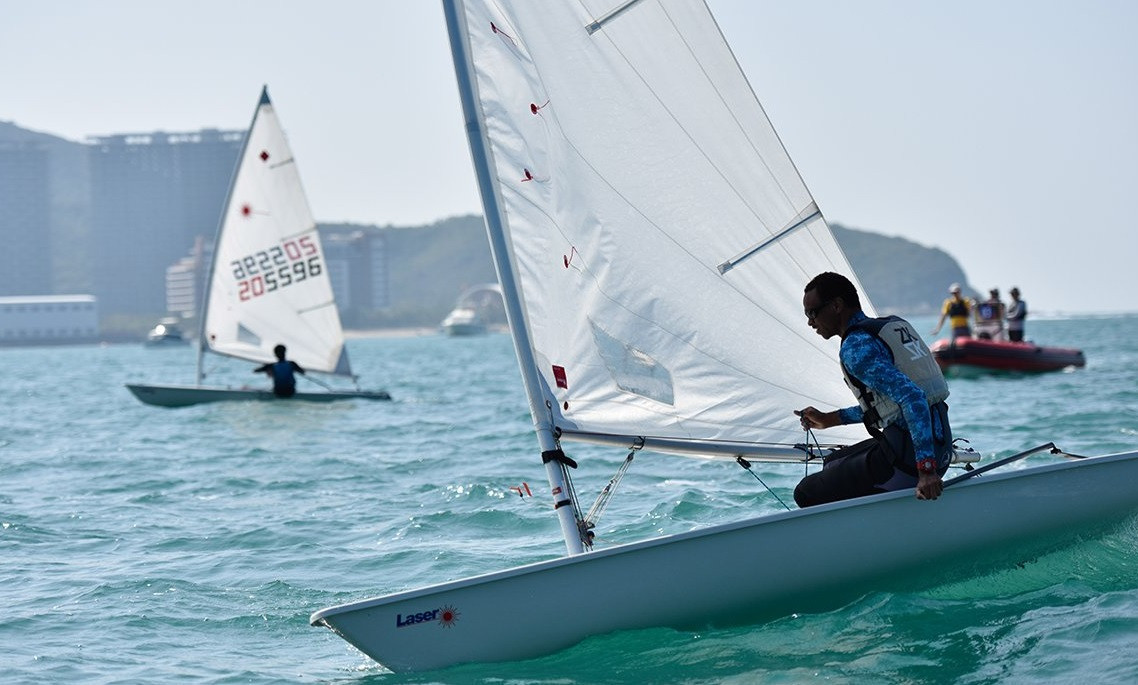 Almost 400 budding sailing stars competing at Sailing Youth World Championships
