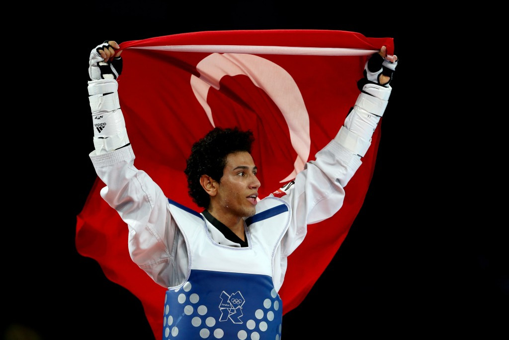 Servet Tazegül, pictured at London 2012, claimed a fifth successive European title ©Getty Images