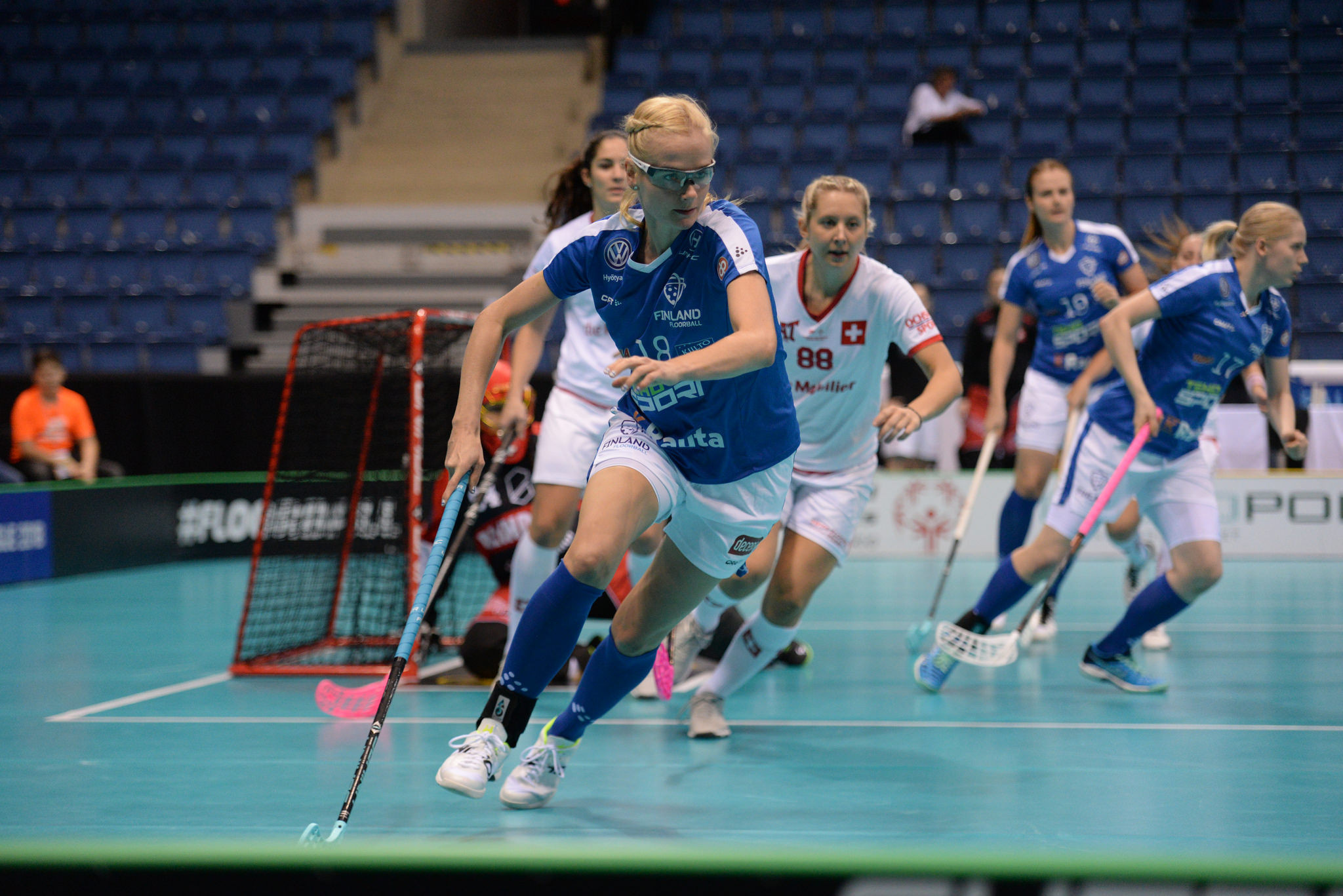 Finland and Sweden to contest Women's World Floorball Championship final