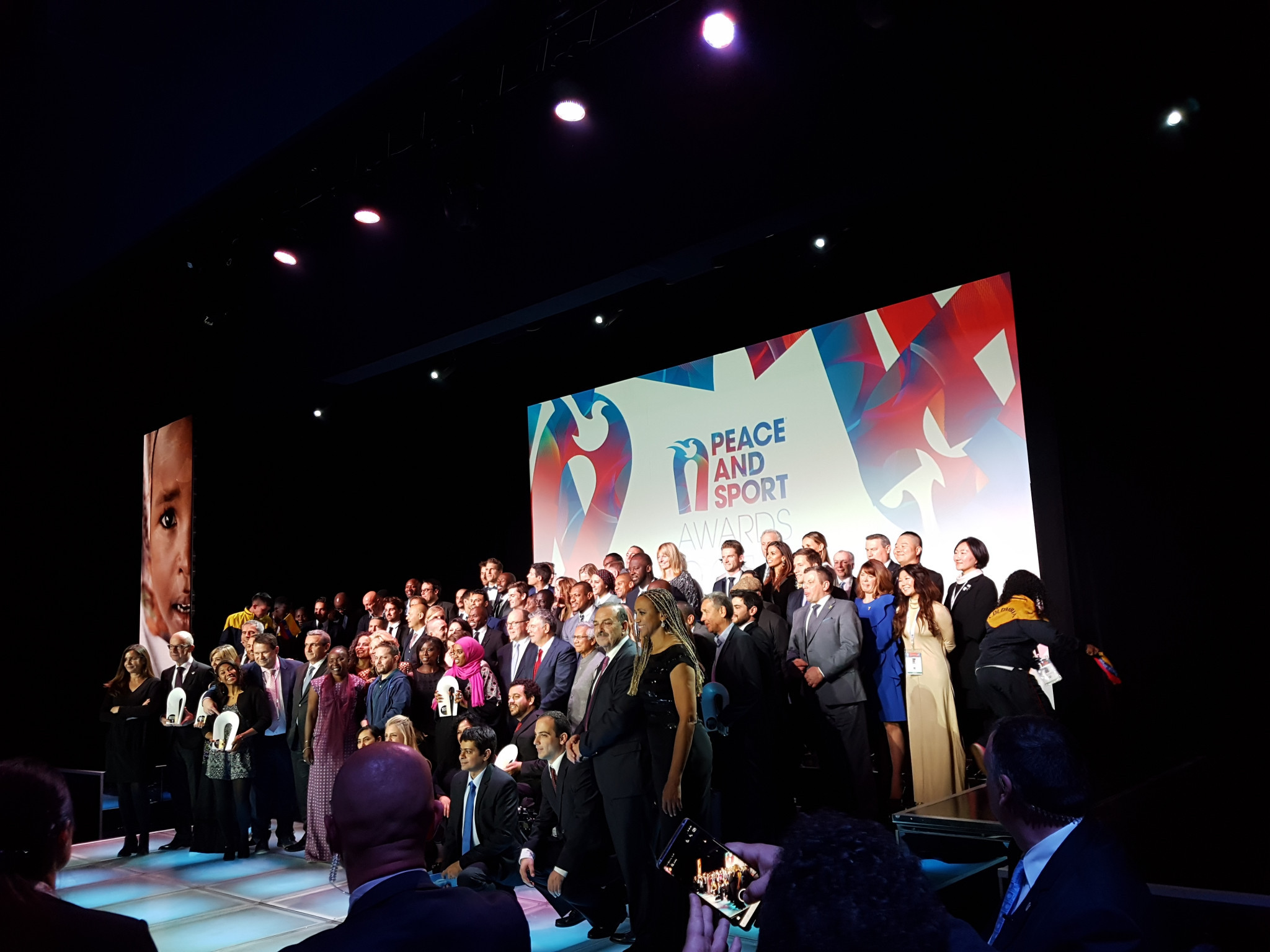 Peace and Sport's Champions of Peace are a huge part of the organisation's success ©ITG