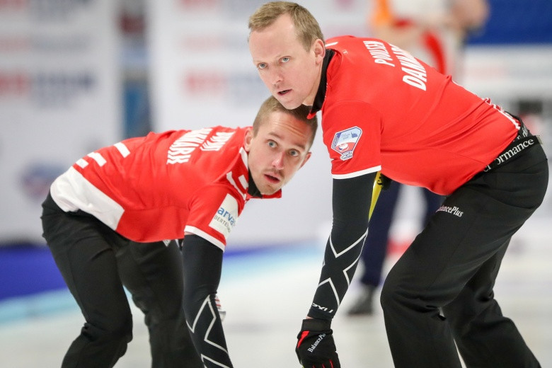 Denmark's men's team now have a great chance of making the Winter Olympics following their win in Pilsen ©WCF