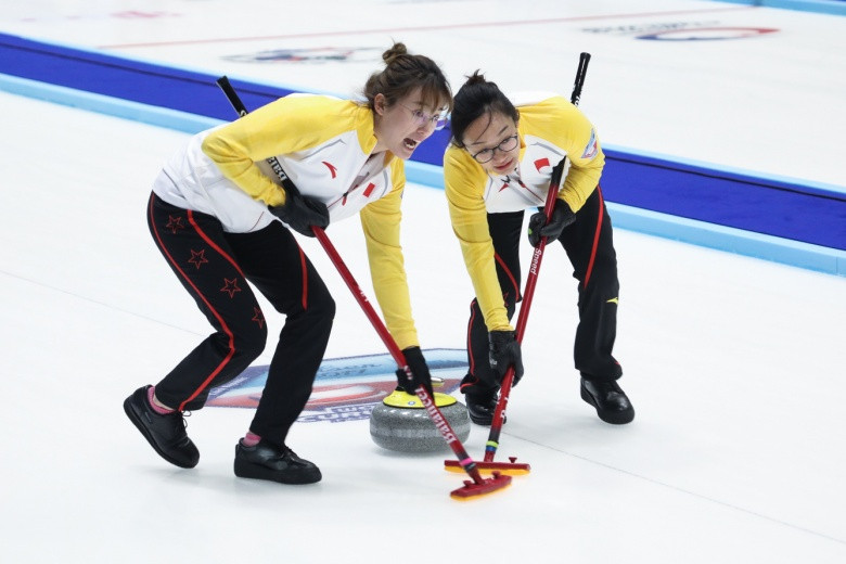 The Chinese team currently top the women's rankings at the WCF Olympic Qualification Event 2017 in Pilsen and are in pole position to qualify for Pyeongchang 2018 ©WCF