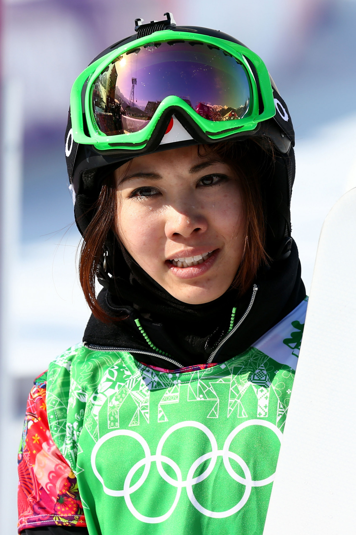 Yuka Fujimori, a former SBX racer with two Olympics behind her in 2006 and 2014, underlined her successful switch to slopestyle ©Getty Images