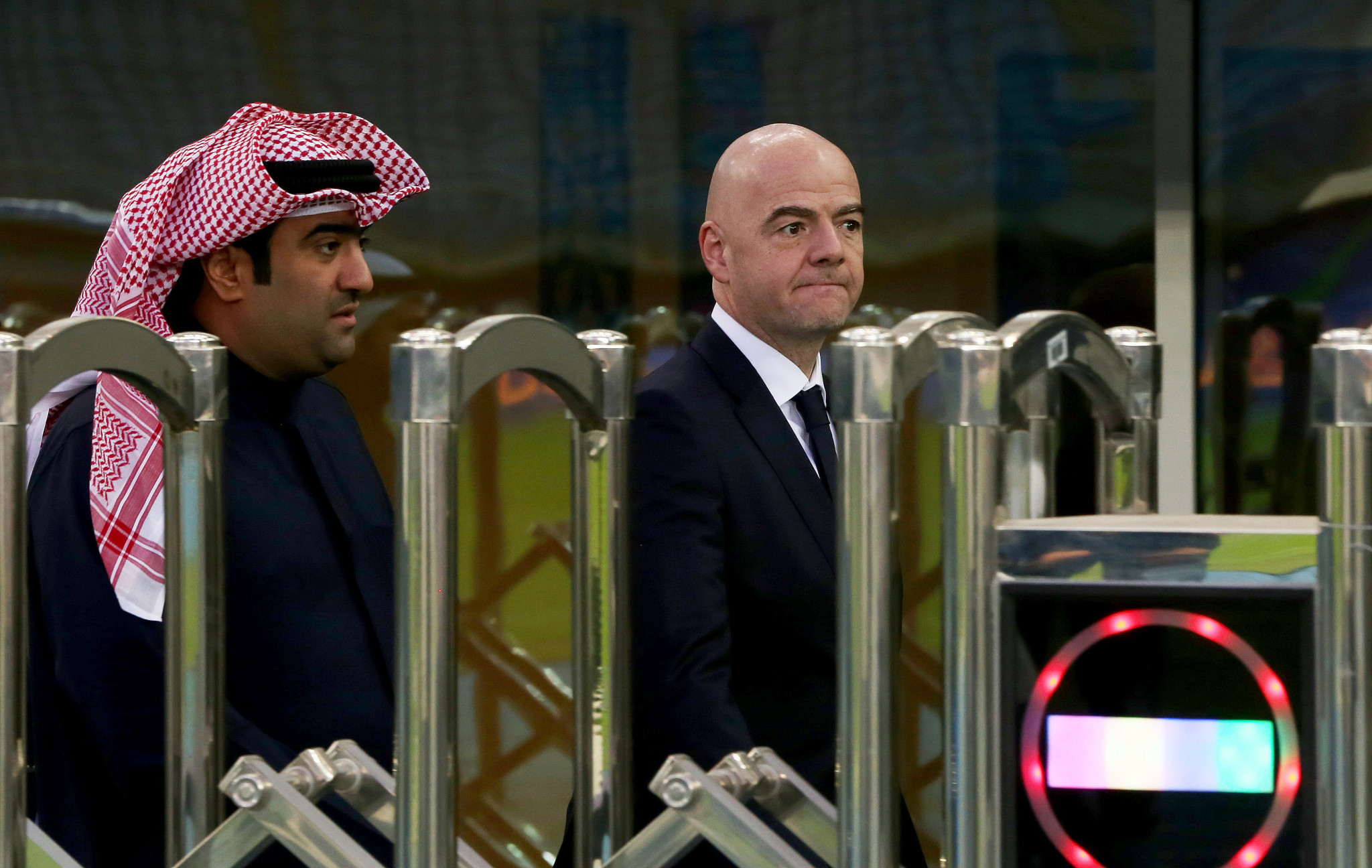 FIFA President Gianni Infantino praised the decision to switch the tournament from Qatar to Kuwait ©Getty Images
