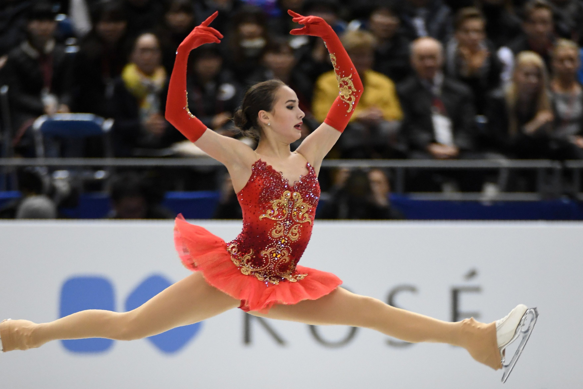 Alina Zagitova won the ladies singles title in Nagoya ©Getty Images