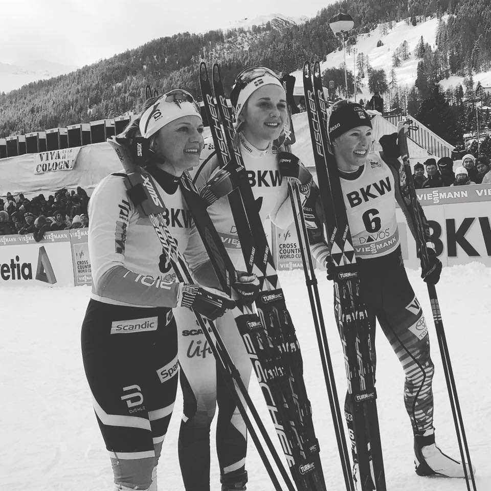 Nilsson and Klæbo both on song in the Swiss Alps