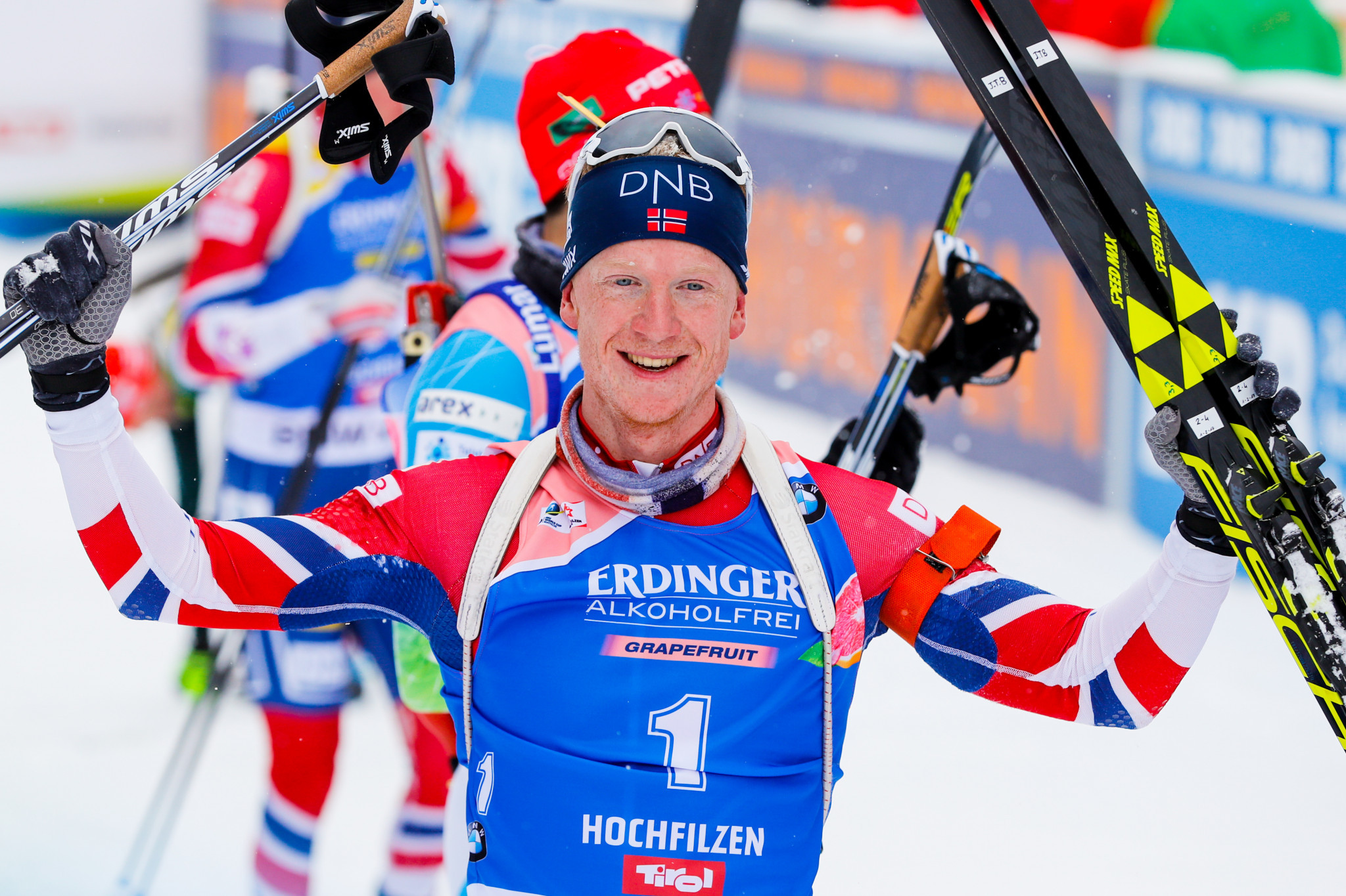 Bø secures second straight win with pursuit triumph at IBU World Cup