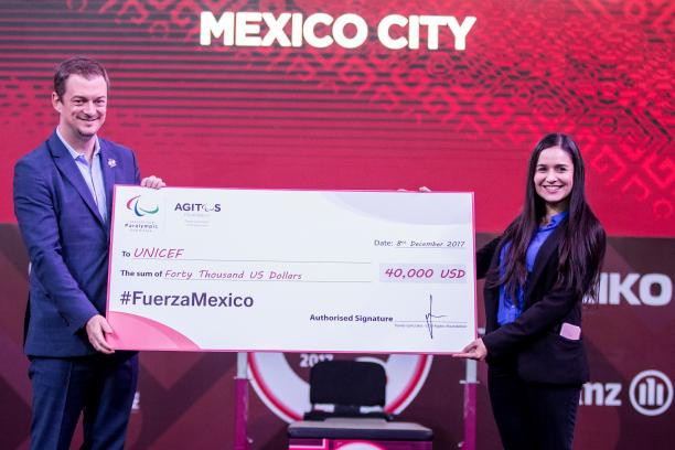 Paralympic Movement donates $40,000 to help victims of Mexico earthquake