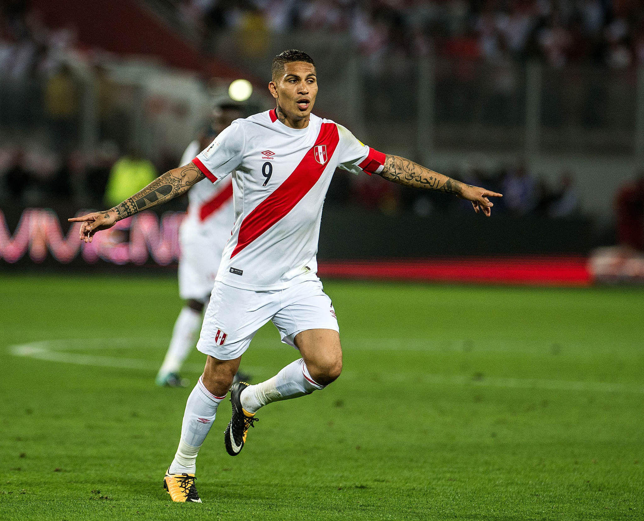 Guerrero to miss World Cup after FIFA ban Peru captain for one year