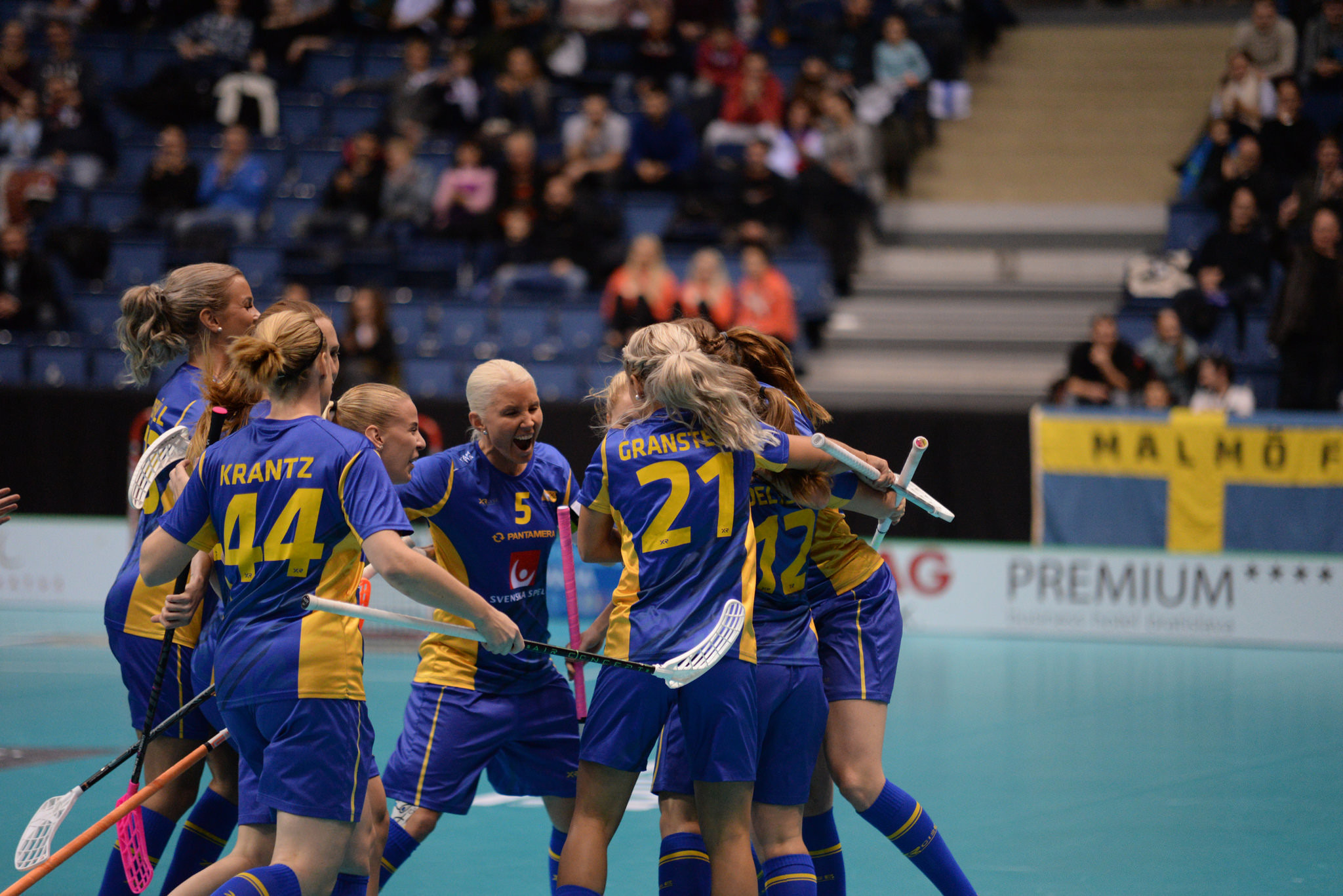 Sweden win IFF Women's Floorball Championships for record sixth time