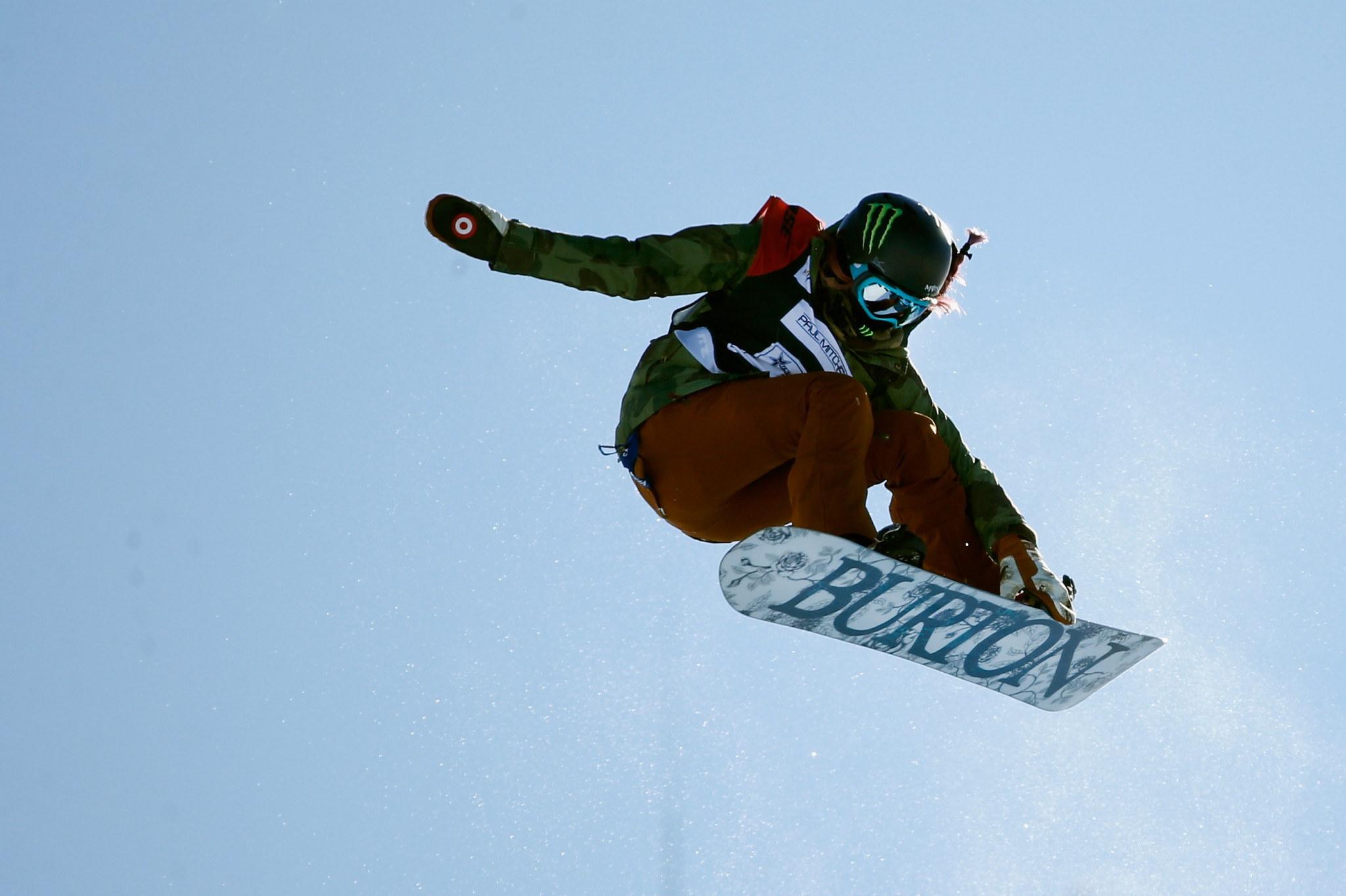 Chloe Kim led an American podium in the women's event ©Getty Images