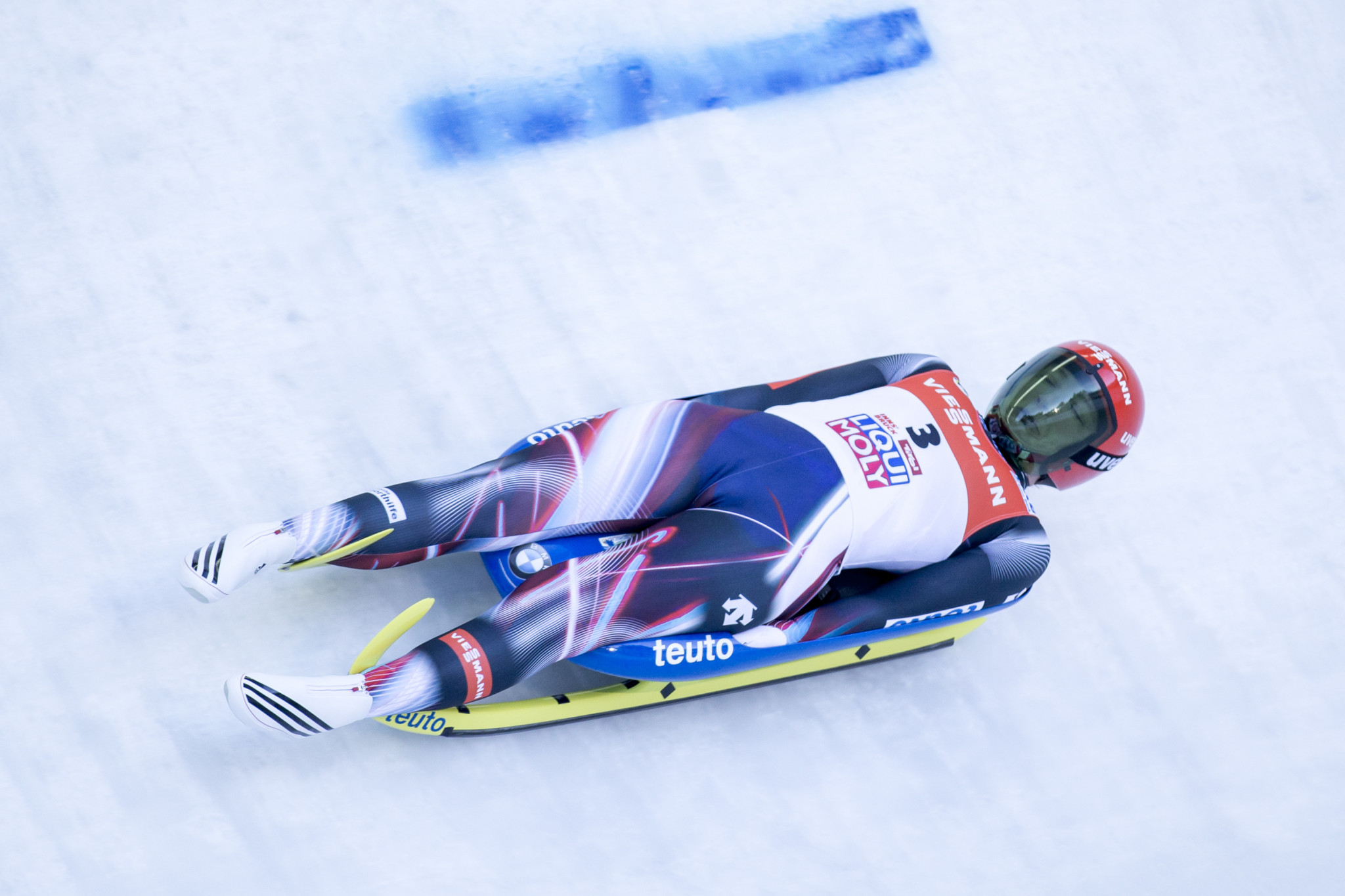 Tatjana Hüfner now holds the outright lead for women's Luge World Cup victories ©Getty Images