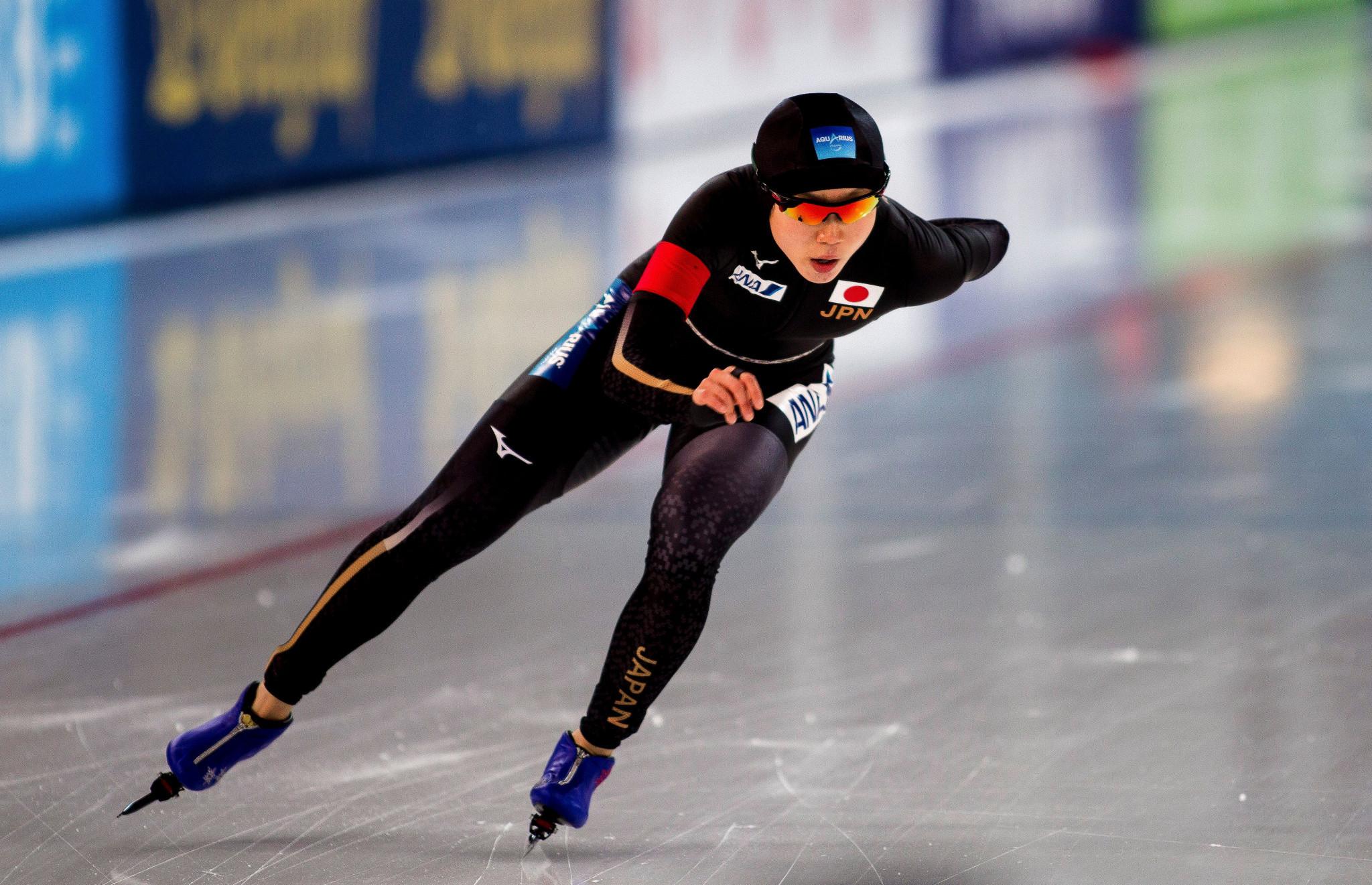 Nao Kodaira maintained her winning run in the women's 500m ©Getty Images
