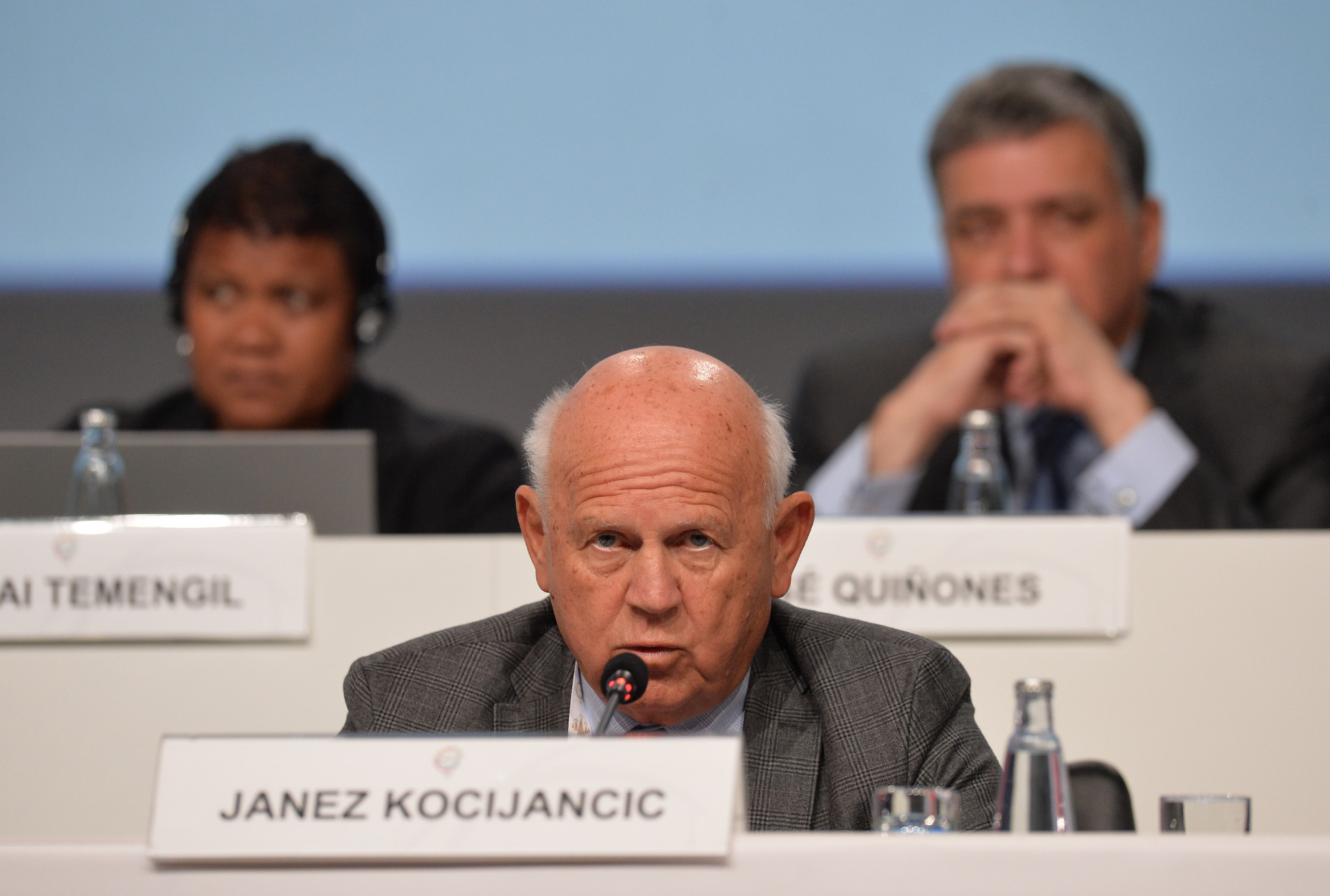 Janez Kocijančič has opposed the IOC decision on Russia ©Getty Images