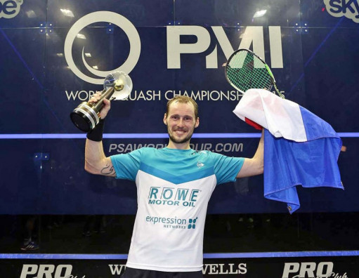 Gaultier and El Sherbini favourites for AJ Bell PSA World Championships