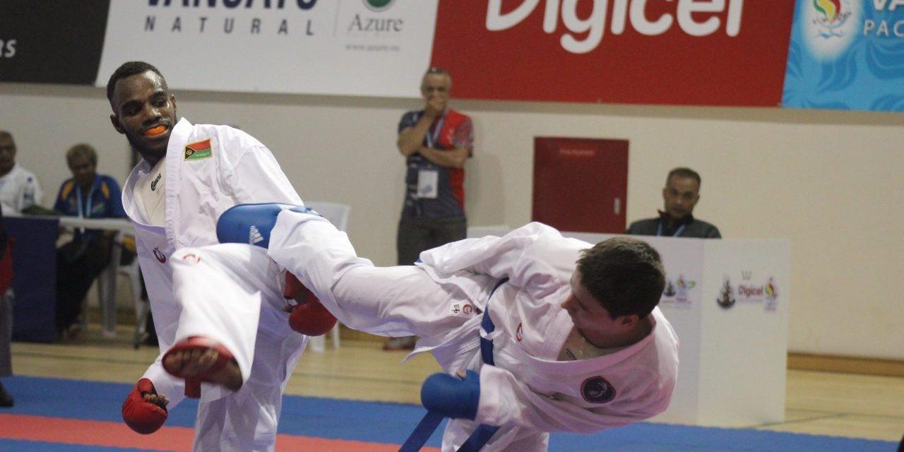 New Caledonia enjoyed success in karate at the Pacific Mini Games ©Vanuatu 2017