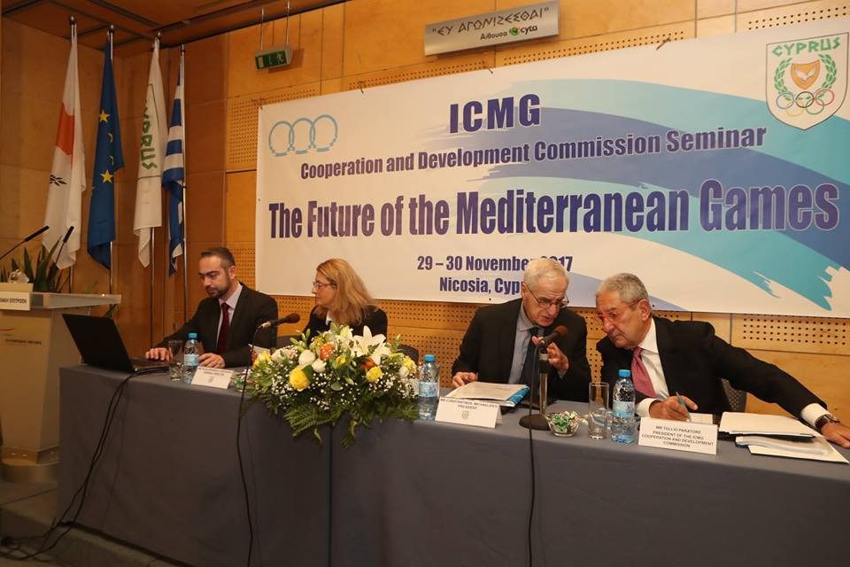 Cyprus Olympic Committee hosts seminar discussing future of Mediterranean Games