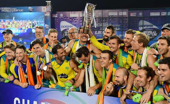 Australia retain Men's Hockey World League title with victory over Olympic champions