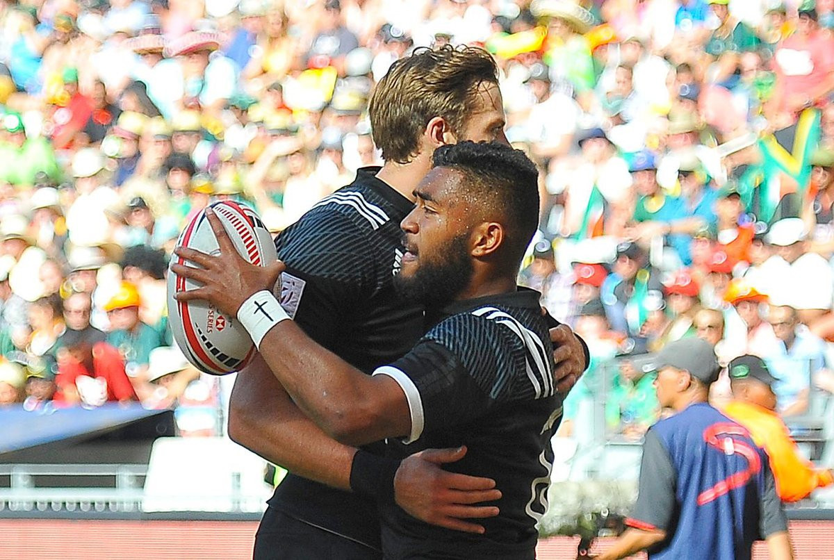 New Zealand top the World Rugby Sevens Series rankings after their victory in Cape Town ©Getty Images