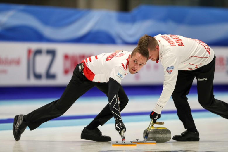 Denmark's men became the final side to book their place at Pyeongchang 2018 with victory over the hosts Czech Republic in a sudden death playoff after losing to Italy earlier in the day ©WCF