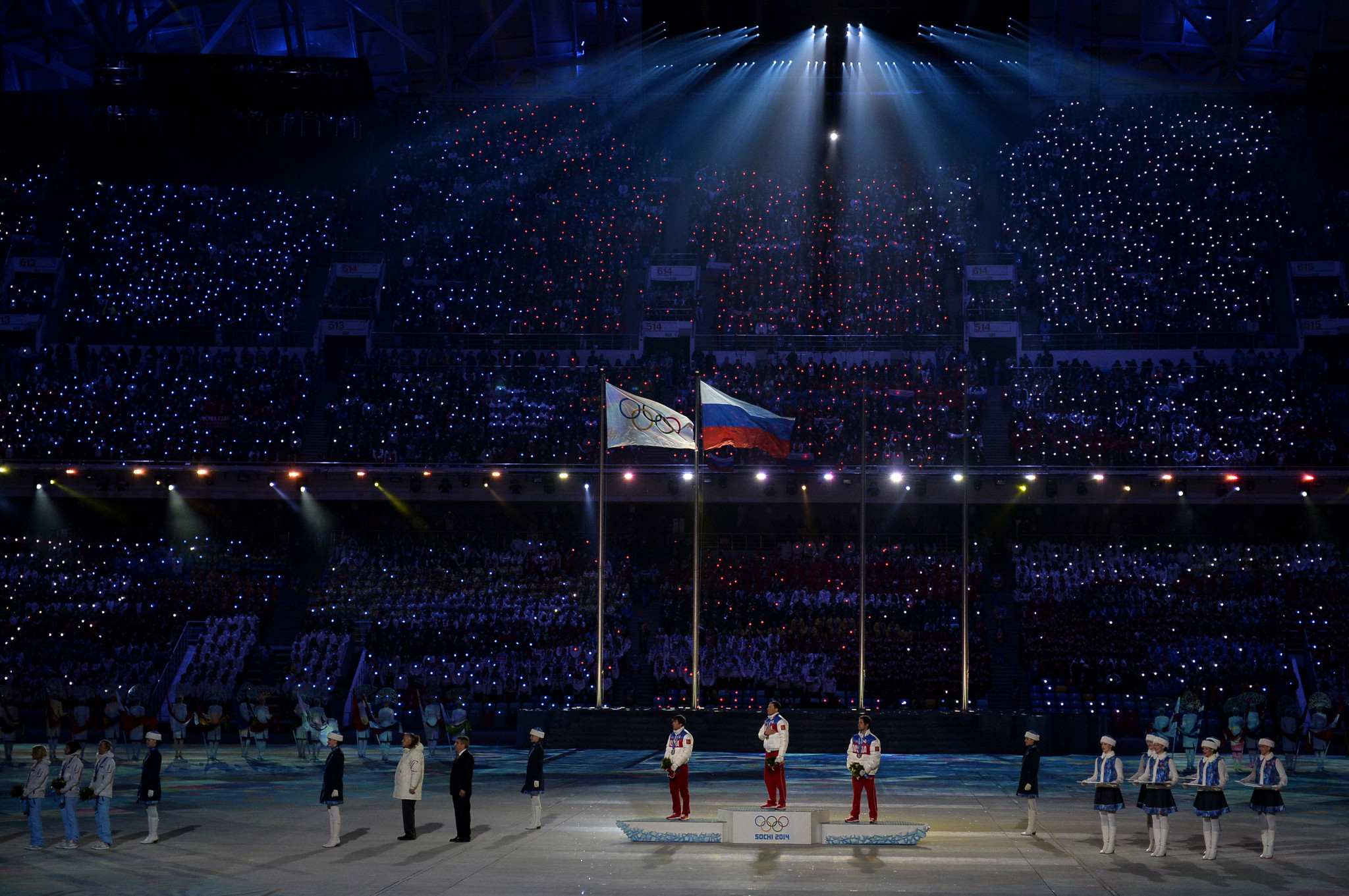 Have the IOC compromised too much by potentially allowing the Russian flag in the Closing Ceremony ©Getty Images