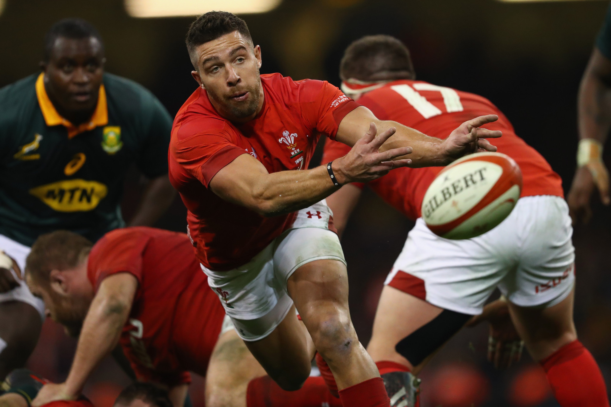 A compromise was negotiated to allow rugby player Rhys Webb to continue representing Wales after transferring to French club Toulon. This seems preferable to a legal dispute ©Getty Images