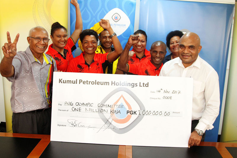 Papua New Guinea receive sponsorship boost to aid participation at major events