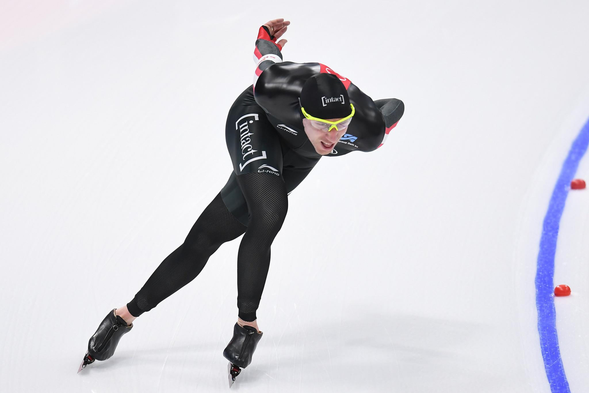 Ted-Jan Bloemen broke the men's 5000m world record ©Getty Images
