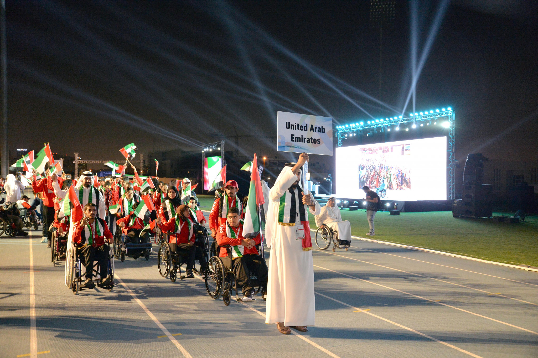 UAE%20Athlete%20Parade%20AYPG - Asian Youth Games 2017 Dubai
