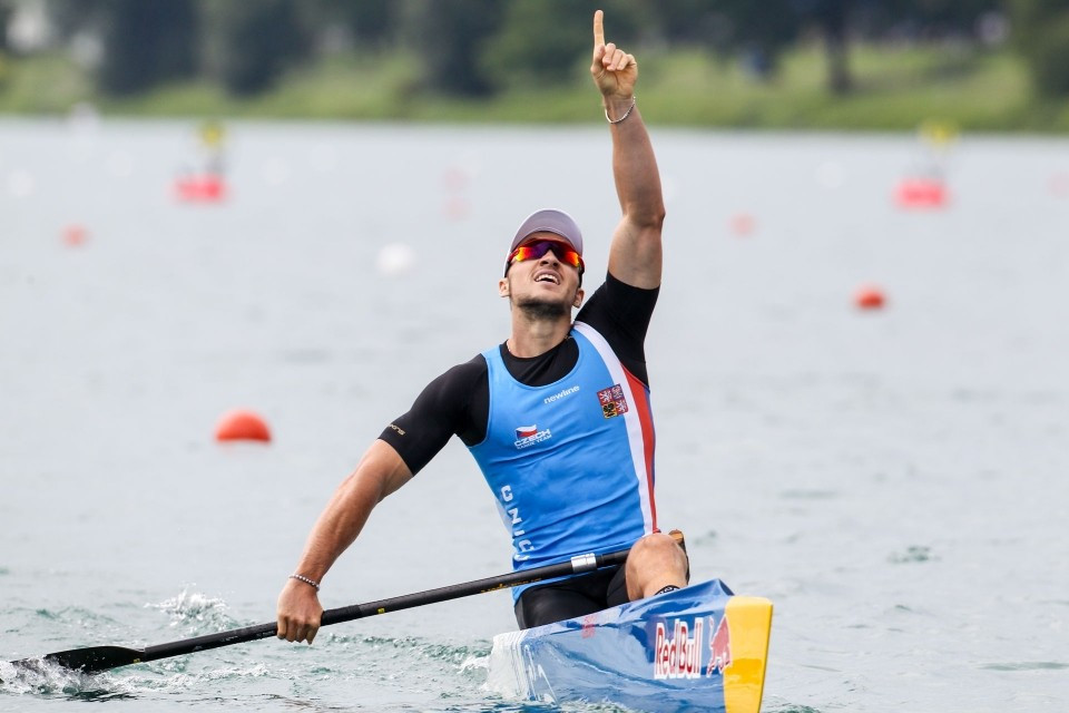 Czech Republic's Fuksa puts disappointment behind him to strike gold at Canoe Sprint World Championships