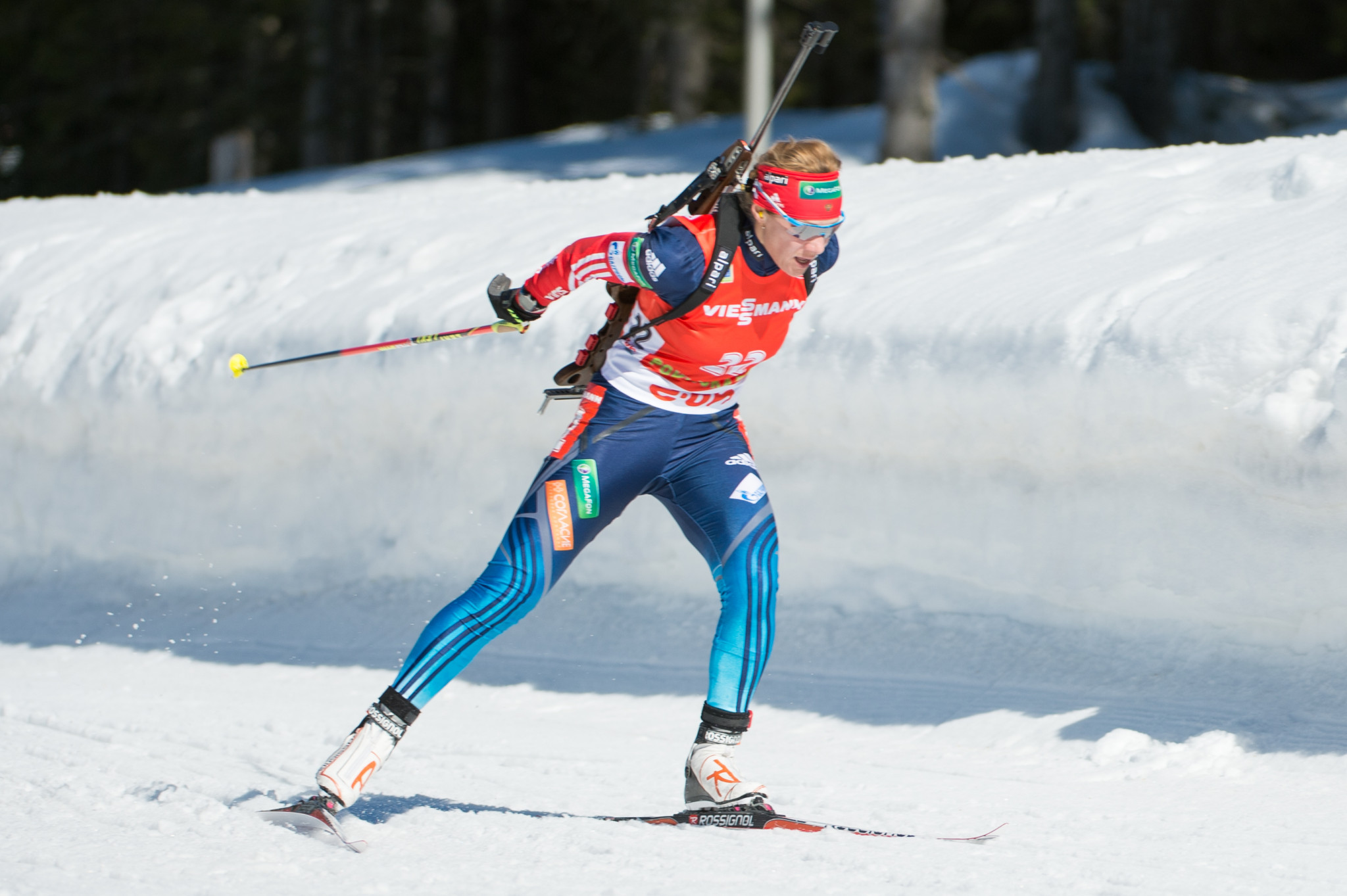 Olympic biathlon silver medallist Olga Zaitseva is among those to have filed appeals to the CAS ©Getty Images